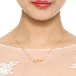 """Kate Spade """"Taken"""" Necklace"""
